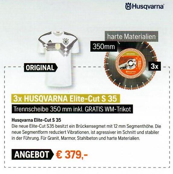 3x Husqvarna Elite-Cut S35